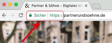 Wie erkenne ich ob eine Seite SSL-verschlüsselt ist?